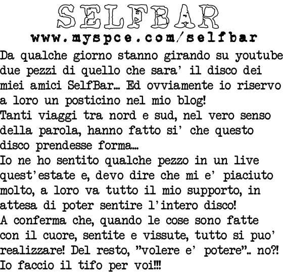 selfbar